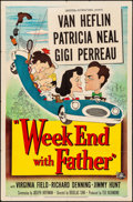 Movie Posters:Comedy, Week End with Father (Universal International, 1951). Fold...