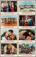 """Movie Posters:Adventure, King Solomon's Mines (MGM, R-1962). Very Fine+. Lobby Card Set of 8 (11"""" X 14""""). Adventure.. ... (Total: 8 Items)"""