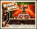 Movie Posters:Horror, King Kong (RKO, R-1956). Fine/Very Fine on Paper. ...