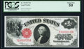 Large Size:Legal Tender Notes, Fr. 39 $1 1917 Legal Tender PCGS About New 50.. ...
