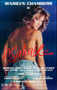 """Insatiable & Other Lot (Miracle Films, 1980). Folded, Very Fine. One Sheets (2) (23.5"""" X 37"""" & 27""""..."""