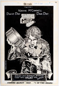 Original Comic Art:Complete Story, David Day and Dan Day Shadows from the Grave House Advertisement Original Art (Renegade Press, 1987). ...