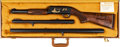 Shotgun:Slide Action, Cased L.A.P.D. Commemorative Ithaca Model 37 Featherweight Slide Action Shotgun....