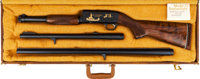 Cased L.A.P.D. Commemorative Ithaca Model 37 Featherweight Slide Action Shotgun