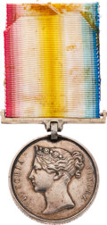 Militaria:Insignia, British Jellalabad Campaign Medal to a Soldier in 43rd Regiment of Foot.. ...