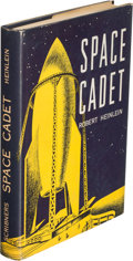 Books:First Editions, Robert Heinlein. Space Cadet. New York: 1948. Firstedition....