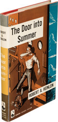 Books:First Editions, Robert A. Heinlein. The Door Into Summer. Garden City: Doubleday & Company, Inc., 1957. First edition. Signed by t...