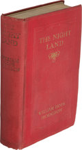 Books:First Editions, William Hope Hodgson. The Night Land. A Love Tale. London: Eveleigh Nash, 1912. First edition. ...