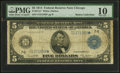 Fr. 871a* $5 1914 Federal Reserve Star Note PMG Very Good 10
