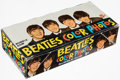 """Non-Sport Cards:Unopened Packs/Display Boxes, 1964 Topps """"Beatles Color Photos"""" (Empty) Wax Box. ..."""