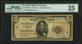 Small Size:Federal Reserve Bank Notes, Fr. 1850-D* $5 1929 Federal Reserve Bank Star Note. PMG Very Fine 25.. ...