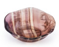 Lapidary Art:Carvings, Fluorite Bowl. China. 4.00 x 3.49 x 1.25 inches (10.15 x 8.87 x 3.18 cm). ...