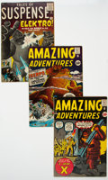 Silver Age (1956-1969):Superhero, Marvel Pre-Hero Silver Age Group of 4 (Marvel, 1961) Condition:Average VG+....