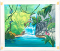 Animation Art:Production Drawing, Tarzan Book Background and Spot Illustration Art andProduction Materials Group of 12 (Walt Disney/Grolier, c. 2000)....