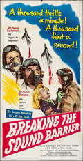 Movie Posters:Action, Breaking the Sound Barrier (United Artists, 1952). Folded,...