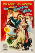 "Movie Posters:Musical, The Emperor Waltz (Paramount, 1948). Folded, Very Fine-. One Sheet (27"" X 41""). Musical.. ..."