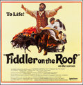 Movie Posters:Musical, Fiddler on the Roof (United Artists, 1972). Folded, Very F...