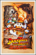 "Movie Posters:Animation, Duck Tales: The Movie - Treasure of the Lost Lamp (Buena Vista, 1990). Rolled, Very Fine+. One Sheet (27"" X 41"") DS. Animati..."