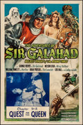 """Movie Posters:Serial, The Adventures of Sir Galahad (Columbia, 1949). Folded, Very Fine-.One Sheet (27"""" X 41"""") Chapter 14 --""""Quest for the Queen...."""