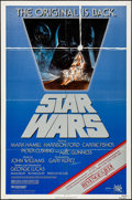 Movie Posters:Science Fiction, Star Wars (20th Century Fox, R-1982). Folded, Very Fine.