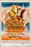Movie Posters:Comedy, Blazing Saddles (Warner Brothers, 1974). Folded, Very Fine...