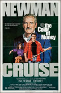 Movie Posters:Drama, The Color of Money (Buena Vista, 1986). Folded, Very Fine-...