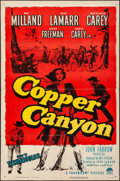 Movie Posters:Western, Copper Canyon (Paramount, 1950). Folded, Fine/Very Fine.