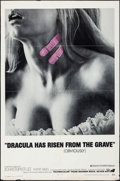 """Movie Posters:Horror, Dracula Has Risen from the Grave (Warner Brothers, 1969). Folded, Fine/Very Fine. One Sheet (27"""" X 41""""). Horror.. ..."""
