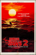 Movie Posters:Horror, Jaws 2 (Universal, 1978). Folded, Fine/Very Fine. ...