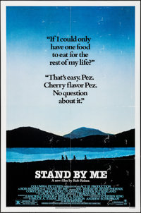 """Stand By Me (Columbia, 1986). Folded, Fine/Very Fine. One Sheet (27"""" X 41""""). Adventure"""