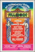 Movie Posters:Rock and Roll, Fillmore (20th Century Fox, 1972). Folded, Very Fine.