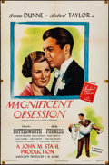 Movie Posters:Drama, Magnificent Obsession (Universal, 1935). Folded, Fine/Very...