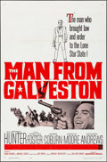 """Movie Posters:Western, The Man from Galveston & Other Lot (Warner Brothers, 1963).Folded, Overall: Very Fine-. One Sheet (27"""" X 41"""") & Belgian(21... (Total: 2 Items)"""