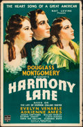 Movie Posters:Musical, Harmony Lane (Mascot, 1935). Rolled, Fine-. One Sh...