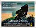 "Movie Posters:Animation, Watership Down (Avco Embassy, 1978). Very Fine+ on Linen. Half Sheet (22"" X 28""). Animation.. ..."