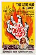 Movie Posters:Horror, The Devil's Hand & Other Lot (Crown International, 1961). ...