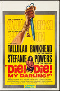 Movie Posters:Horror, Die! Die! My Darling! (Columbia, 1965). Folded, Very Fine-...