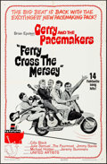 Movie Posters:Rock and Roll, Ferry Cross the Mersey (United Artists, 1965). Folded, Fin...