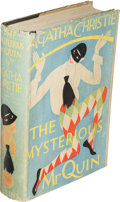 Books:Mystery & Detective Fiction, Agatha Christie. The Mysterious Mr. Quin. London: W. Collins Sons & Co Ltd, 1930. First edition. ...