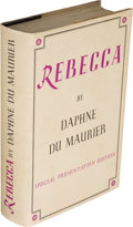 Books:Mystery & Detective Fiction, Daphne du Maurier. Rebecca. London: Victor Gollancz Limited, 1938. Special presentation edition, limited to 200 copi...