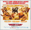 Movie Posters:Western, Hour of the Gun (United Artists, 1967). Folded, Very Fine....