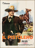 "Movie Posters:Western, The Shootist (Titanus, 1976). Folded, Fine/Very Fine. Italian 4 -Fogli (55"" X 78""). Averardo Ciriello Artwork. Western.. ..."