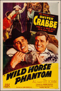 Movie Posters:Western, Wild Horse Phantom & Other Lot (PRC, 1944). Folded, Fine/V...