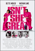Movie Posters:Comedy, Isn't She Great (Universal, 2000). Rolled, Very Fine.
