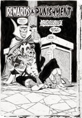 "Original Comic Art:Complete Story, Jim Starlin and Al Milgrom Infinity Abyss #6 Complete 38-Page Story ""Rewards & Punishment"" Original Art (Marvel, 2..."