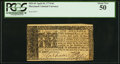 Colonial Notes:Maryland, Maryland April 10, 1774 $6 PCGS About New 50....