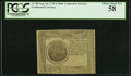 Colonial Notes:Continental Congress Issues, Continental Currency September 26, 1778 $7 Blue CounterfeitDetector PCGS Choice About New 58.. ...