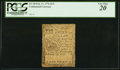 Colonial Notes:Continental Congress Issues, Continental Currency February 17, 1776 $1/3 PCGS Very Fine...