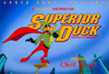 "Animation Art:Seriograph, ""Superior Duck"" Daffy Duck Limited Edition Fine Art Serigraph #192/500(Warner Brothers, 1996)...."