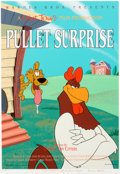"Animation Art:Poster, ""Pullet Surprise"" Foghorn Leghorn Limited Edition Fine Art Print#194/500 (Warner Brothers, 1997)...."